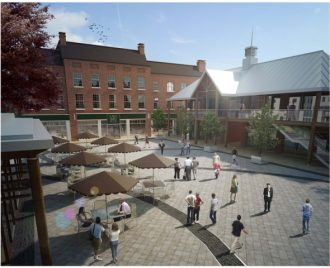 Artist's impression of Brightwells___new_town_square